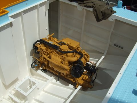 Engine Installation Sea Mule
