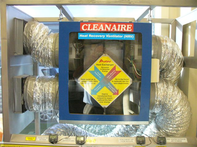 Cleanaire Heat Recovery Ventilation